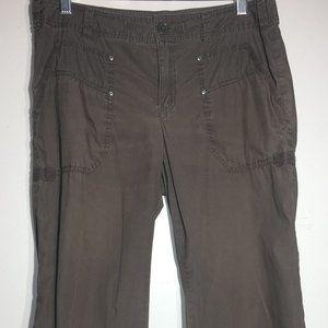 LondonJean Dark Brown Chino weight pants